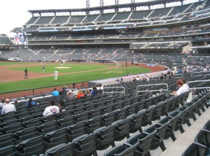 Empty Seats Citifield  - Be Gone With Wilpon